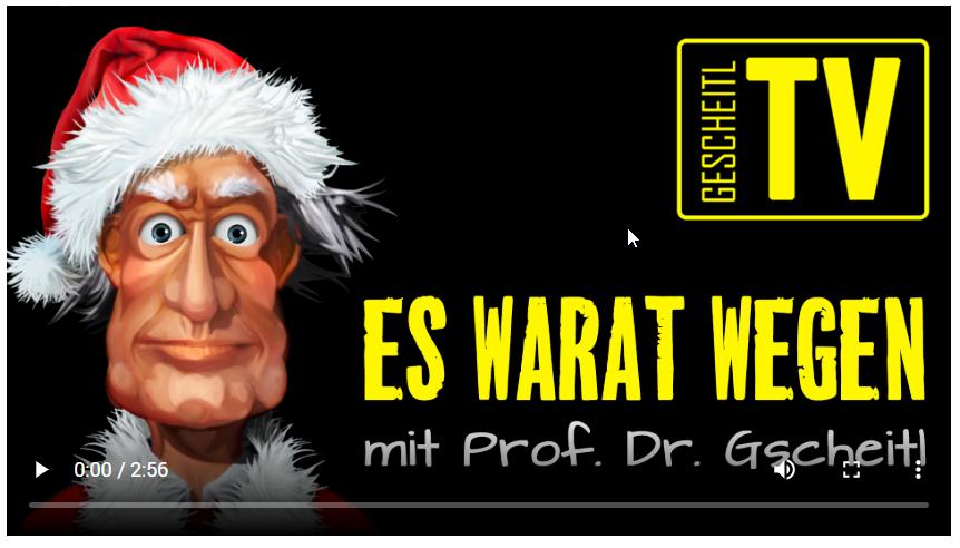 """GSCHEITL TV – """"Es warat wegen"""" – Folge 15"""